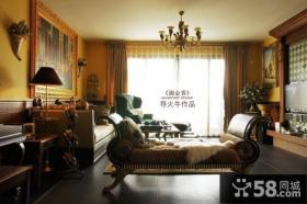 美式经典客厅装修效果图大全2012图片-导火牛设计
