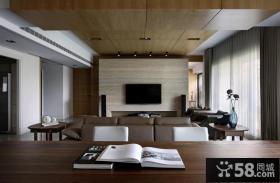 现代家居时尚电视背景墙欣赏