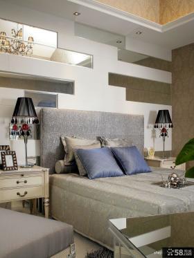 简欧风格卧室装修效果图 卧室背景墙装修效果图