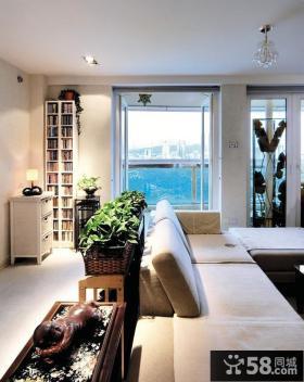 现代风格客厅沙发实景图欣赏