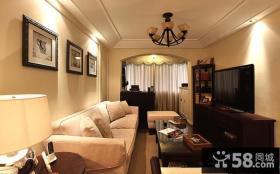 美式风格客厅效果图欣赏大全