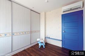 地中海设计卧室衣柜图片