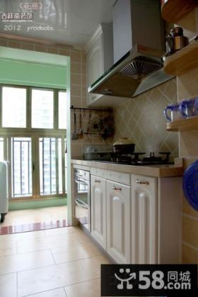 带阳台厨房装修效果图大全
