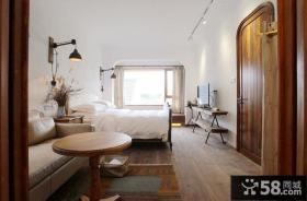 美式仿古卧室装修设计图片欣赏