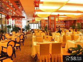 天贵国际酒店餐厅装修图片