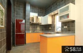 现代风格厨房装修效果图欣赏大全2014图片