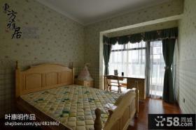 别墅小卧室壁纸装修效果图