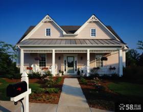 欧式别墅外观设计效果图片