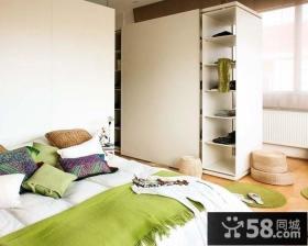 小户型卧室衣柜装修效果图 卧室墙柜效果图