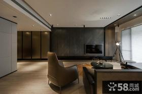 日式装修风格客厅电视背景墙效果图欣赏