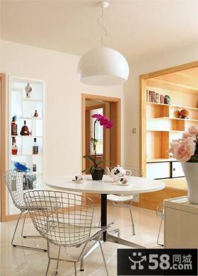 日式简约家居餐厅装修设计效果图