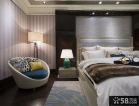 美式新古典风格卧室灯具图片大全