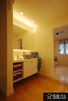 简约风格装修家用卫生间隔墙图片