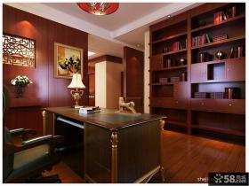 中式别墅主卧室装修效果图大全2012图片