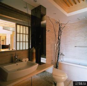 日式卫生间装修图