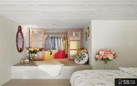 现代小户型设计衣柜装饰图片