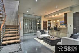 简约的乡村别墅客厅玄关装修效果图大全2012图片