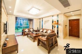 中式风格客厅吊顶设计效果图片欣赏