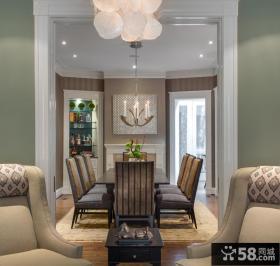 美式经典别墅家庭装修设计效果图欣赏
