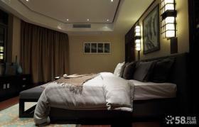 现代风格卧室家装效果图大全2013图片