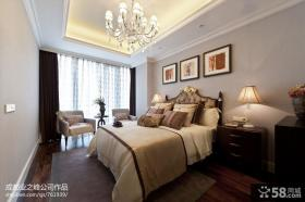 欧式家居卧室吊顶装修设计图