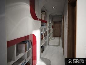 欧式风格石膏板走廊吊顶装修效果图