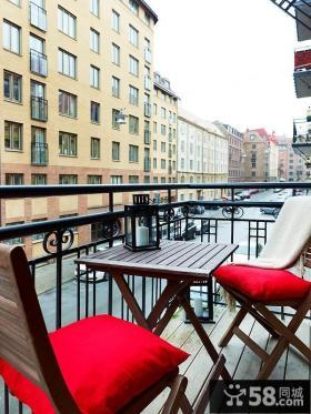 二室二厅休闲阳台装修效果图大全2012图片