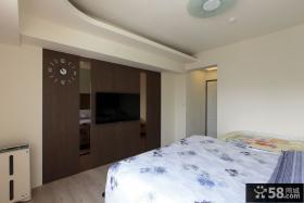 125平米三居室现代风格装修设计图片