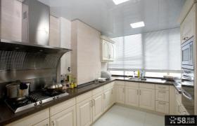 简欧风格厨房橱柜效果图图片