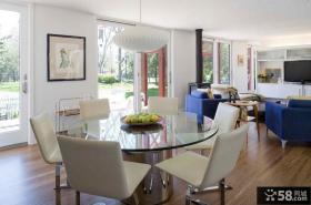 三室两厅一卫装修图 现代简约风格装修图片
