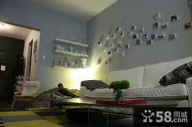 50平小户型客厅装修效果图大全20124案例