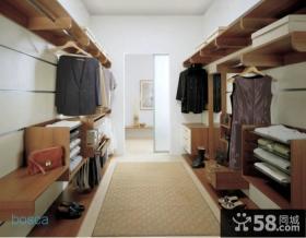 开放式衣柜设计欣赏图片