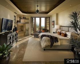 卧室带阳台装修效果图欣赏
