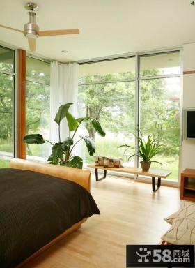 现代简约卧室装修效果图 卧室装修效果图大全2012图片