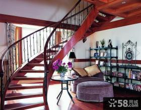 室内楼梯扶手效果图