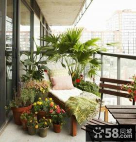 休闲区阳台装修效果图片大全