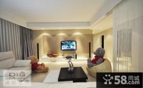 室内客厅电视背景墙效果图欣赏大全