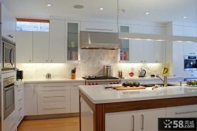 欧式开放式厨房装修图
