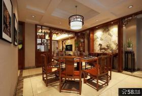 餐厅中式古典家具图片