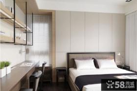 简约中式风格卧室装修效果图大全2012图片