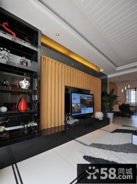 装修家具用客厅电视背景墙图