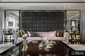 新古典主义沙发背景墙装修效果图