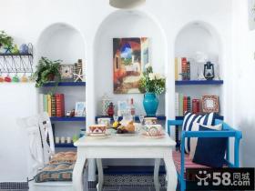 地中海风格复式餐厅设计效果图欣赏