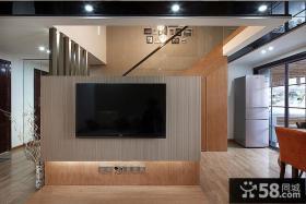 现代复式室内家居装饰设计效果图