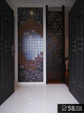 简约中式装修设计过道图片欣赏
