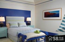 美式现代风格特小卧室装修效果图