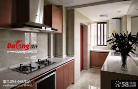 现代简约风格厨房装修设计图