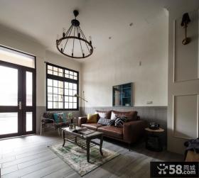 乡村美式风格别墅房屋室内设计效果图