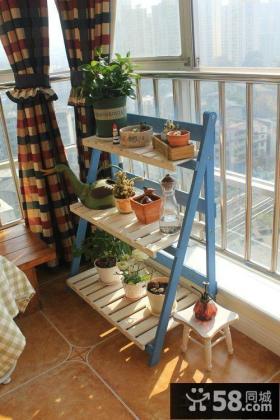 阳台花架装修效果图片欣赏