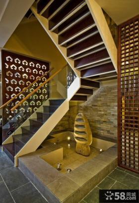 楼梯间设计效果图大全2014图片
